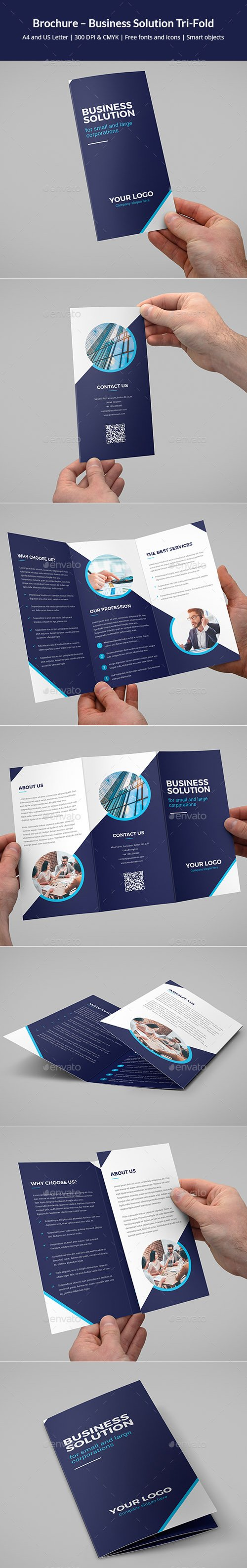 Brochure – Business Solution Tri-Fold 19524111