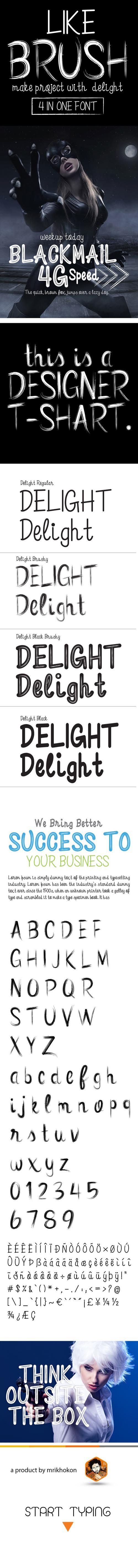 Delight Font 19662463