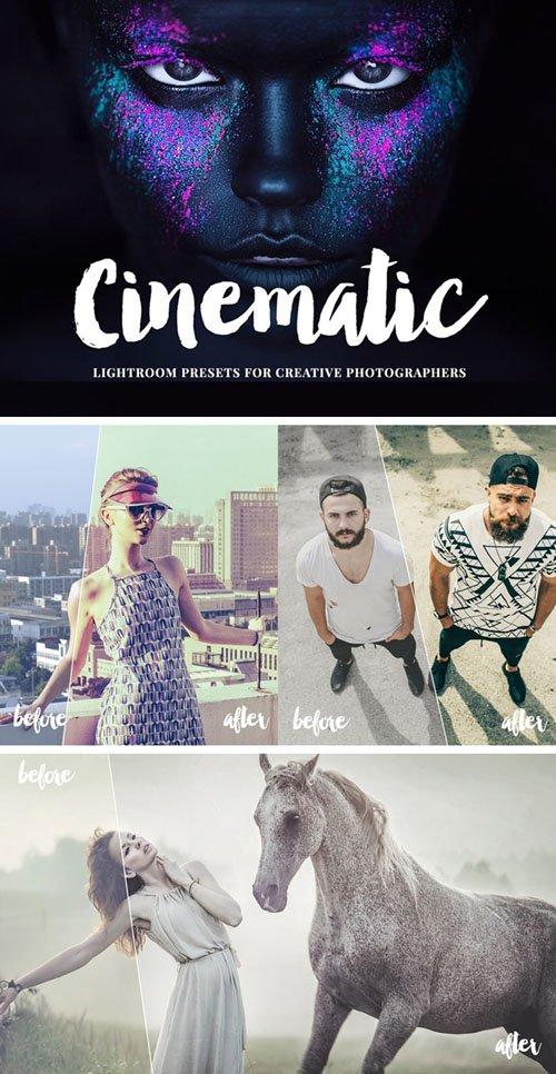 8 Cinematic Lightroom Presets