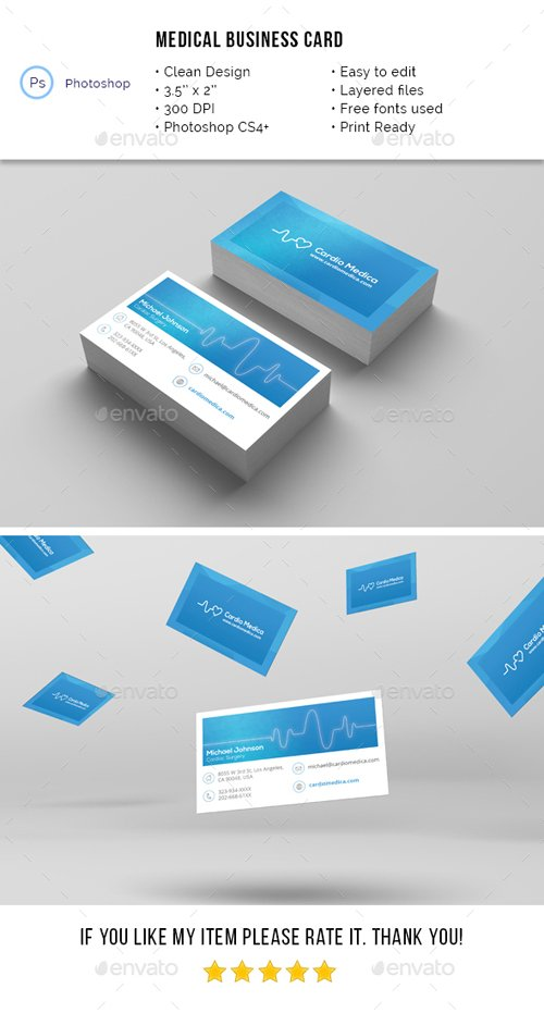 Medical Business Card 19691749