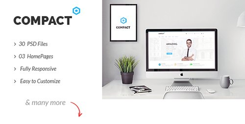 ThemeForest - Compact v1.0 - Multipurpose Corporate Business PSD Template - 14467877