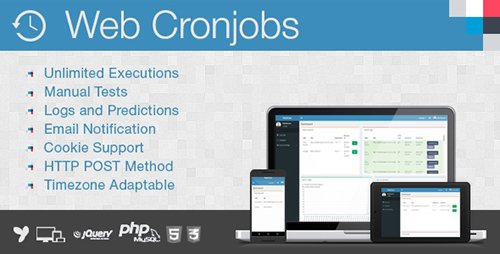 CodeCanyon - Web Cronjobs v1.2 - 15716288