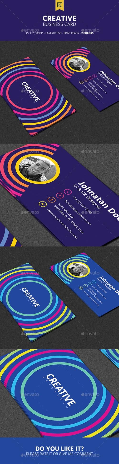 GR - Creative Business Card 19644804