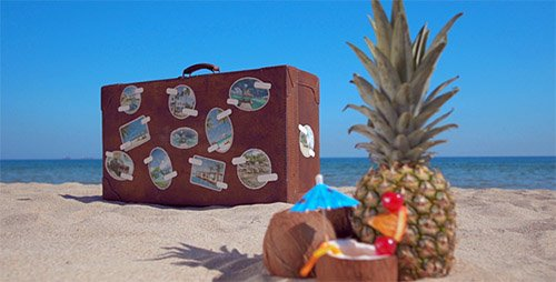The Retro Suitcase - Holiday & Travel Promotion - Project for After Effects (Videohive)