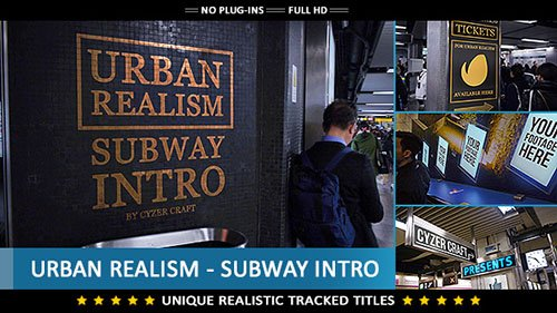 Urban Realism - Subway Intro - Project for After Effects (Videohive)