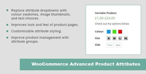 CodeCanyon - JC WooCommerce Advanced Product Attributes v1.3.0 - 10201812