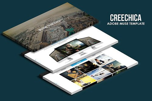 Creechica Muse Template - CM 495593
