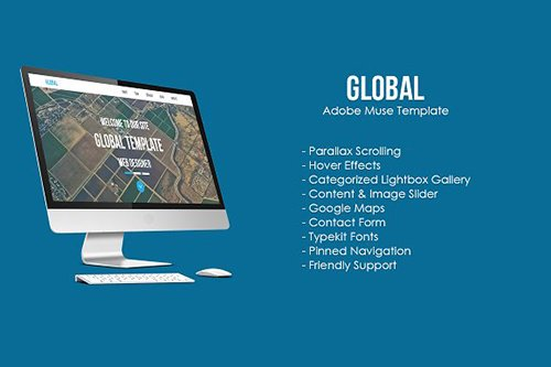 Global Muse Template - CM 491511