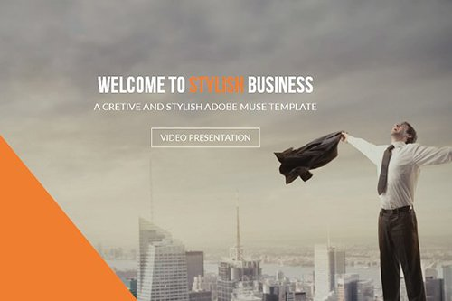 Stylish Business Muse Template - CM 486285