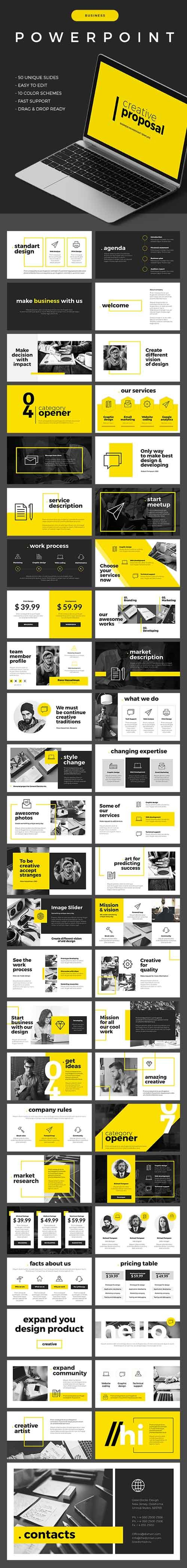 Business Powerpoint Template 19486815