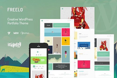 Freelo v1.4 - Creative WordPress Theme - CM 1407927