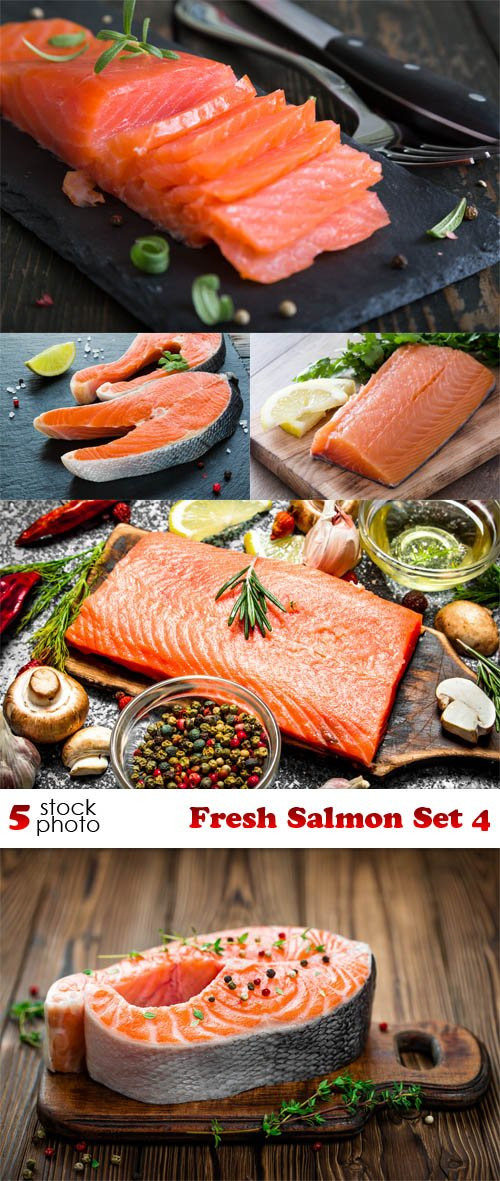 Photos - Fresh Salmon Set 4