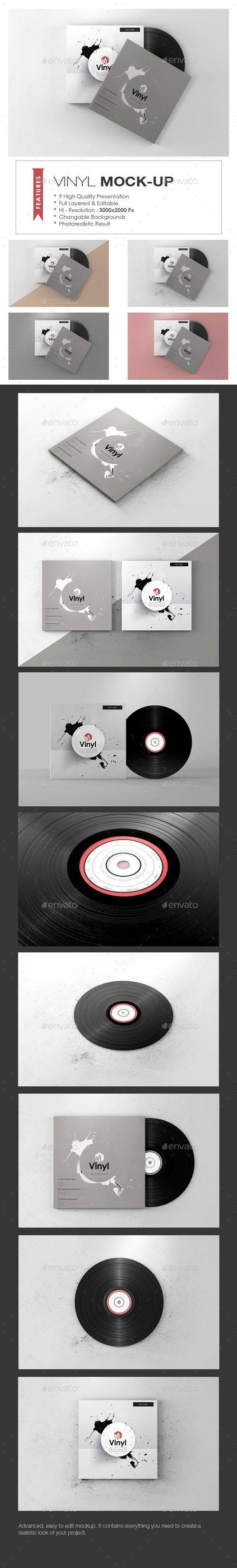 Vinyl Mock-up 19758502