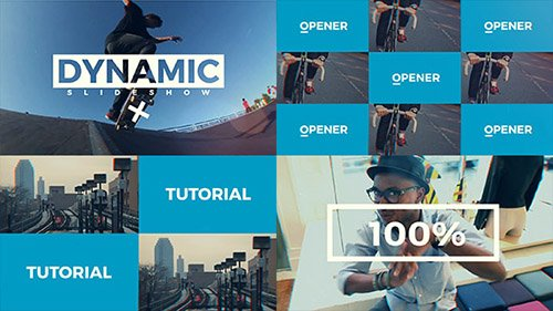 Dynamic Slideshow 19663344 - Project for After Effects (Videohive)