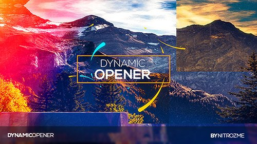 Dynamic Opener - 19630513 - Project for After Effects (Videohive)