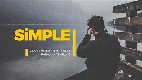 SImple Parallax Photo Gallery | v.3 - Project for After Effects (Videohive)