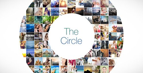 The Circle Mosaic Slideshow - Project for After Effects (Videohive)