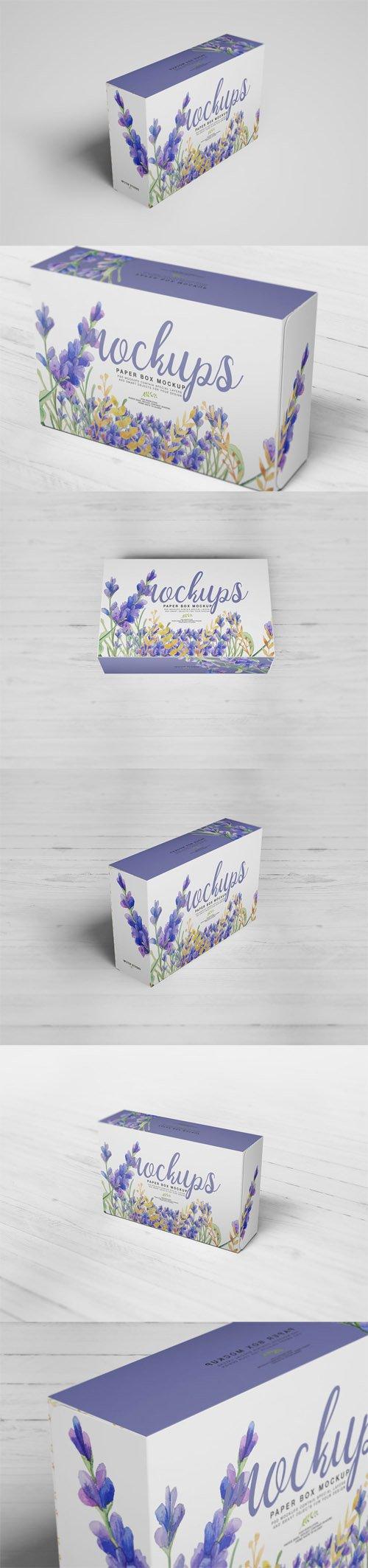 Paper Box Mockup 06
