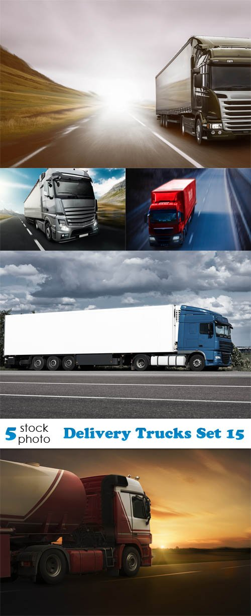 Photos - Delivery Trucks Set 15