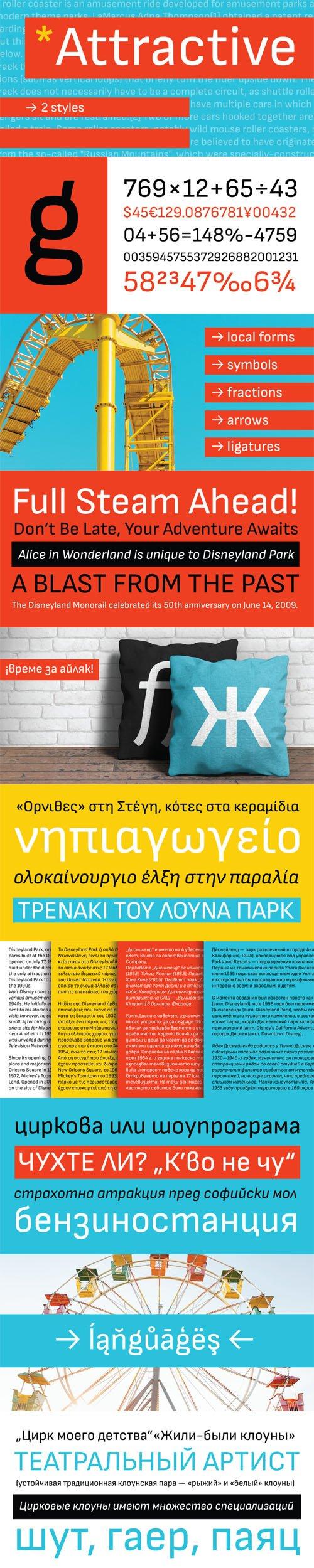 Attractive Sans Typeface TTF/OTF/WOFF » NitroGFX - Download