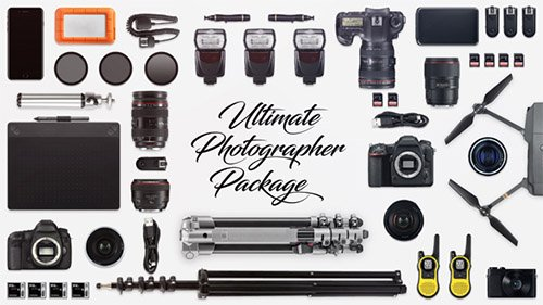 Ultimate Photographer Package - Project for After Effects (Videohive)