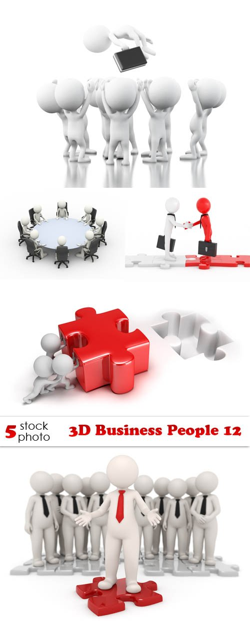 Photos - 3D Business People 12