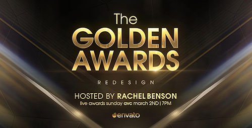 Golden Awards Opener Redesign - Project for After Effects (Videohive)