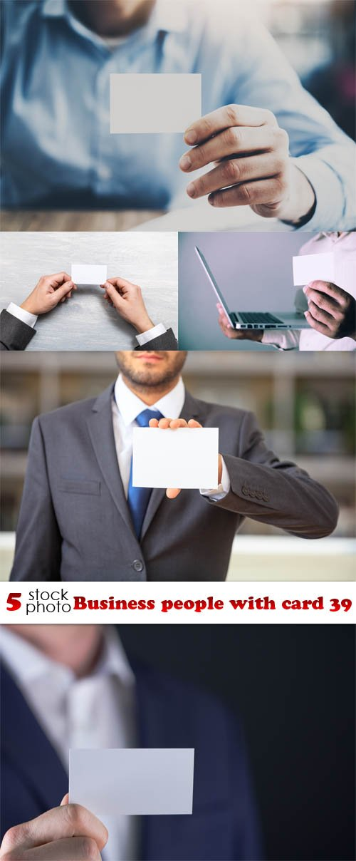 Photos - Business people with card 39