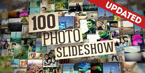 100 Photo Slide Show - Project for After Effects (UPTADE 20 May 16) (Videohive)