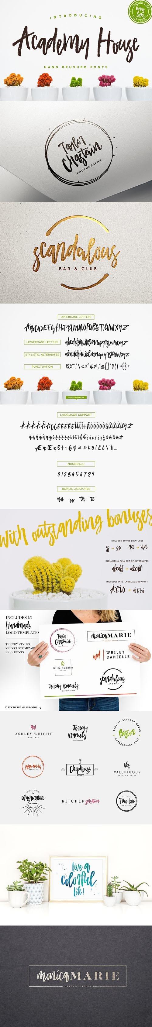 Academy House + Logos 1418255