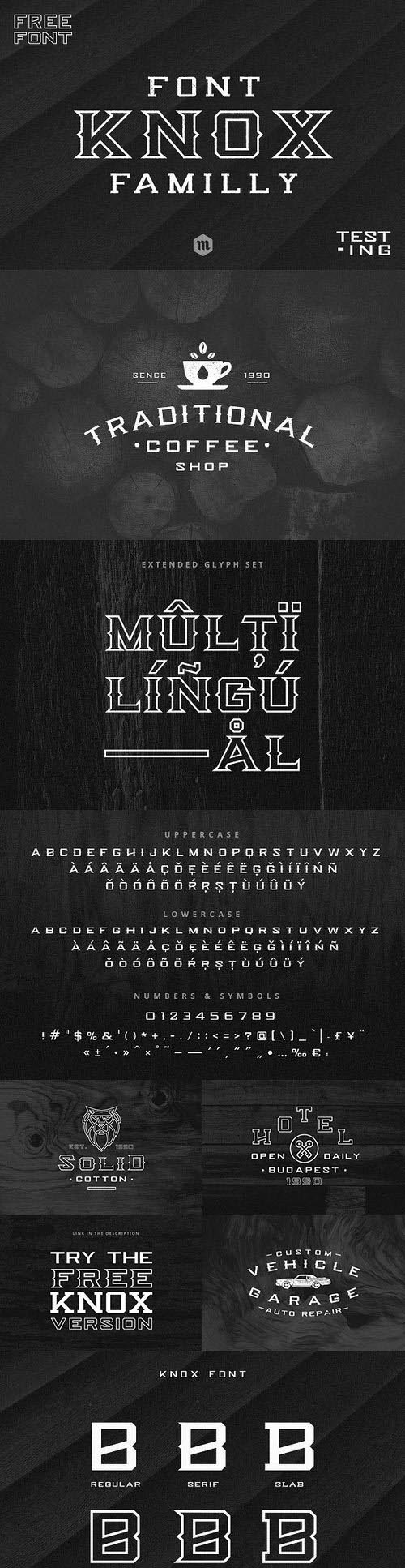 Knox Serif Typeface 1113159