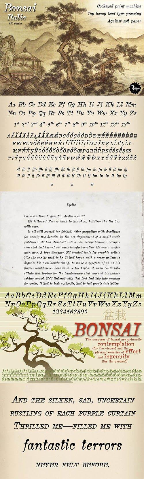 Bonsai Italic 15420