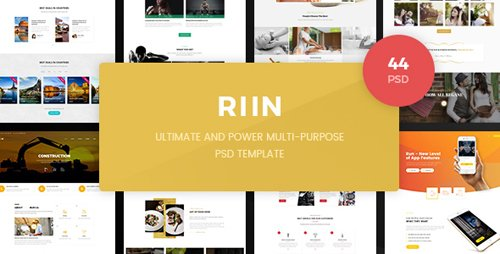 Run - Powerful Multi-Purpose PSD Template 19794803