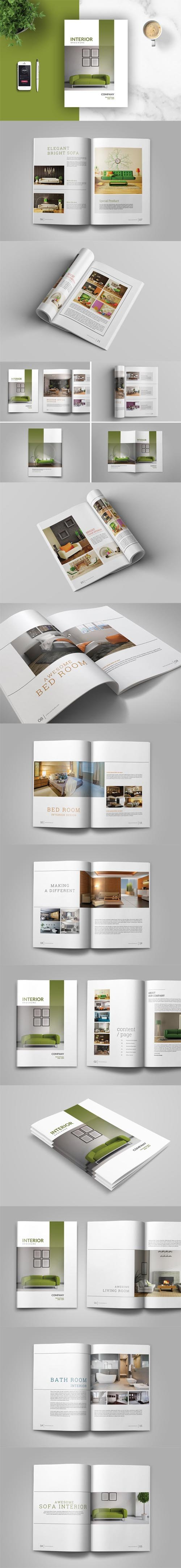 Interior Brochures / Catalogs / Magazine
