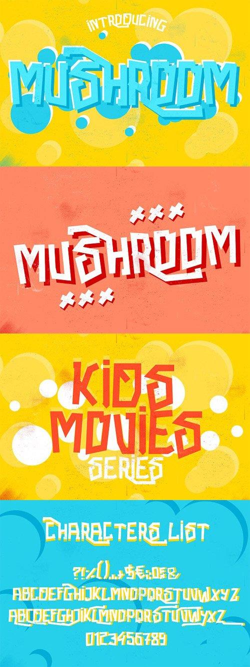 Mushroom Font 1432229