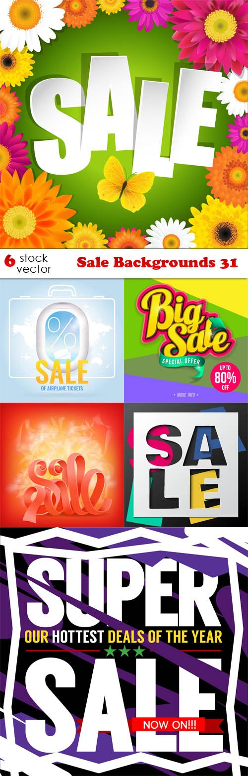 Vectors - Sale Backgrounds 31