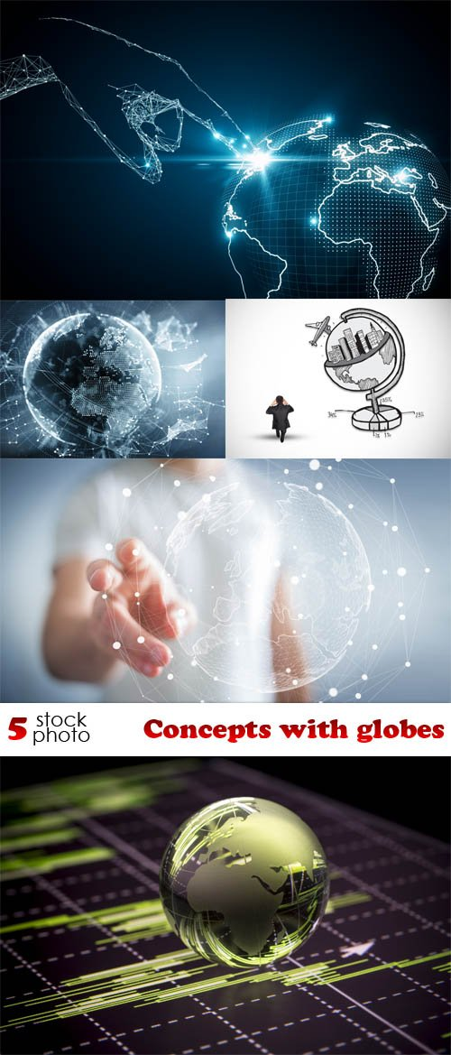 Photos - Concepts with globes