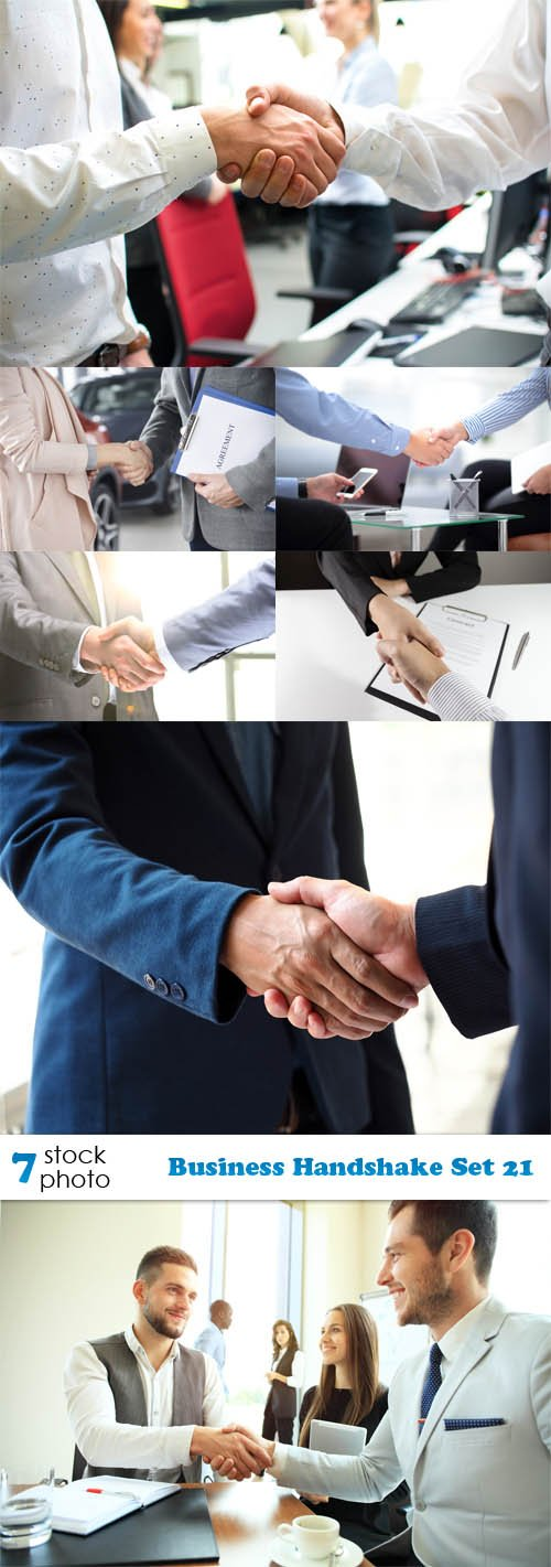 Photos - Business Handshake Set 21