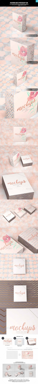 Paper Box Mockup 04 19862571