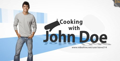 Cooking Intro - Tv Show - Project for After Effects (Videohive)