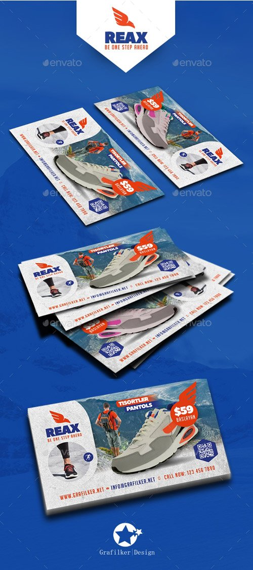 GR - Sport Shop Business Card Templates 19505953