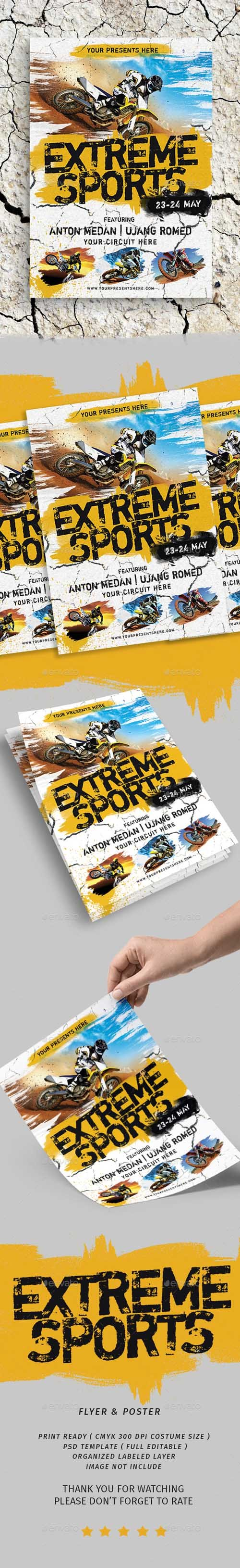 Extreme Sports Flyer 19794601