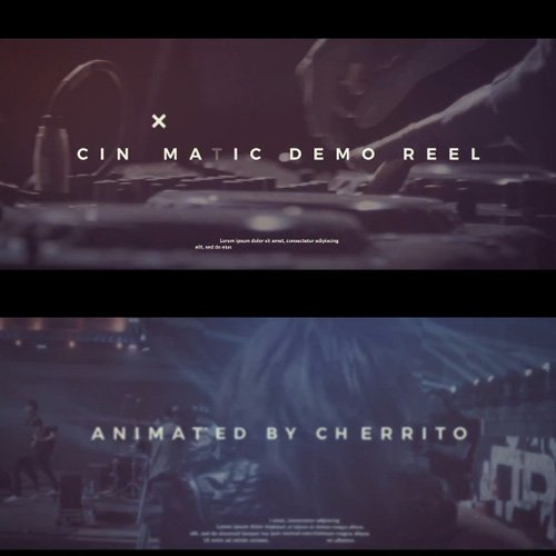 Cinematic Demo Reel - After Effects