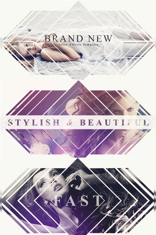 Dynamic Fashion Slideshow - After Effects