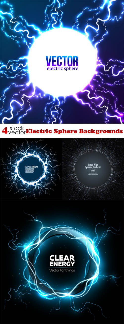 Vectors - Electric Sphere Backgrounds