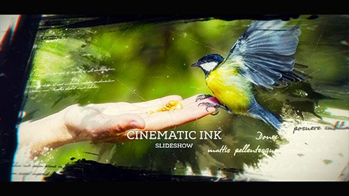Cinematic Ink Slideshow - Project for After Effects (Videohive)