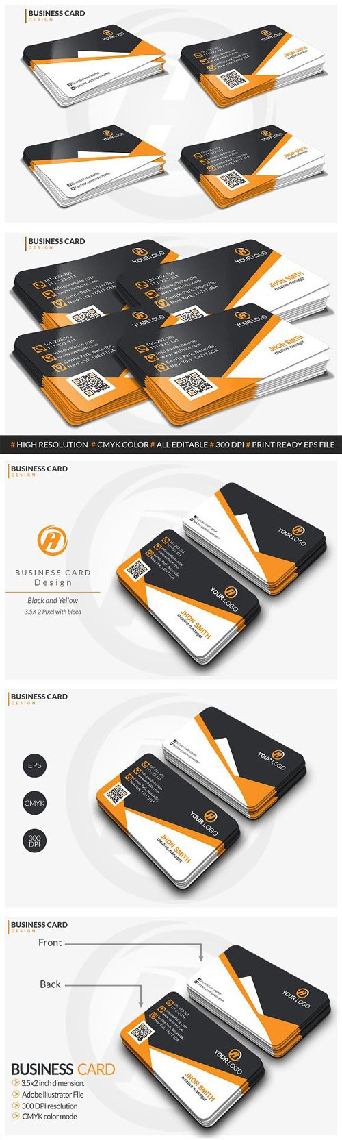 Corporate Business card design 1479501