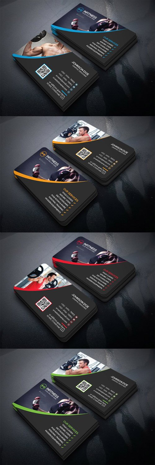 Fitness Business Card 1479767