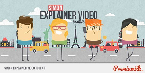 Simon Explainer Video Toolkit - Project for After Effects (Videohive)