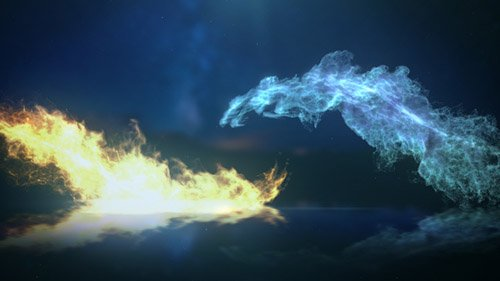 Ice And Fire Logo - Project for After Effects (Videohive)